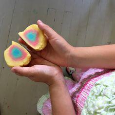 Playdough Fun with Mandalas, Earth Balls, and Color Mixing