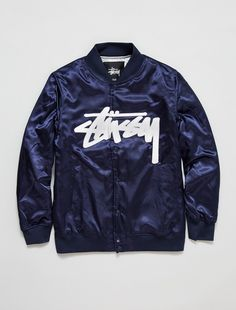 Stussy Stock Satin Jacket