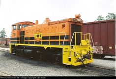 CIRR 719   Description:  Chattahoochee Industrial Railroad now owned by the Genesee & Wyoming.   Photo Date:  6/24/2005  Location:  Saffold, GA   Author:  Ken Roble  Categories:    Locomotives:  CIRR 719(SW1500)
