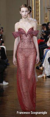 défilé Haute-Couture PE 2017 Francesco Scognamiglio à Paris