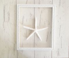 Large White Frame Picture Frame Gallery by SeasideRoseCreations