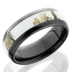 fish wedding band my husband so needs this ring for someday when my brothersister gets married pinterest weddings and wedding - White Camo Wedding Rings