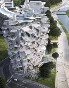 -El edificio-árbol de Sou Fujimoto- El arquitecto japonés levantará en Montpellier una torre alternativa al bloque tradicional de pisos