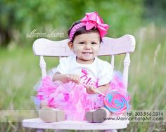 Baby girl 1st year photos! Love her to pieces!