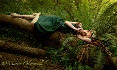 Dreaming Dryad by ~OzureFlame on deviantART