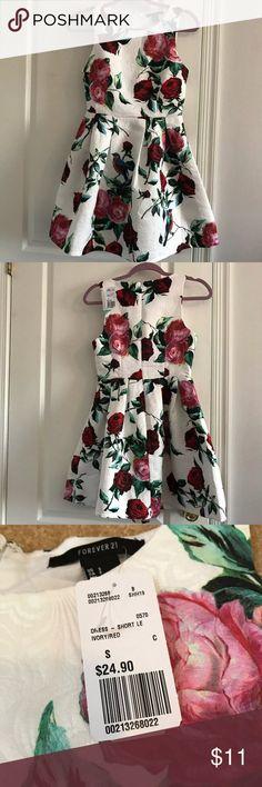 Forever 21 Floral Dress Never worn dress! Forever 21 Dresses Mini