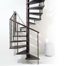 1000 images about staircase to sleeping deck on pinterest for Square spiral staircase plans