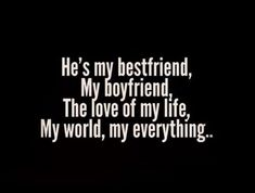 Relationship Quotes - The Best Cute Quotes for Boyfriend ( updated 2019 ) Get Back his love or stay hu. Cute Love Quotes, Missing Quotes, Famous Love Quotes, Cute Quotes For Your Boyfriend, Love Boyfriend, Love Qoutes For Boyfriend, Cute Boyfriend Things, Cute Boyfriend Pictures, Things About Boyfriends