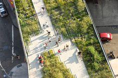 7 projetos de revitalização urbana | Pamela Hartford | http://www.bimbon.com.br/projeto/7_projetos_de_revitalizacao_urbana  #ny #garden #highline