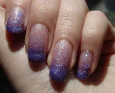 Gel Nail Designs with Glitter | Beautiful And Creative Nail Design | Nail Designs Zone
