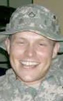 Army Spc. Brett L. Tribble  Died June 3, 2006 Serving During Operation Iraqi Freedom  20, of Lake Jackson, Texas; assigned to the 2nd Battalion, 6th Infantry Regiment, 2nd Brigade Combat Team, Baumholder, Germany; died June 3 in Ramadi, Iraq, of injuries sustained there June 2, when an improvised explosive device detonated near his Humvee during combat operations.