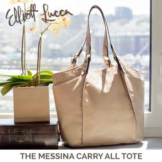This must-have tote is roomy enough to take you from day to night effortlessly and features our signature woven leather detail. Shop the Messina Carry All Tote.