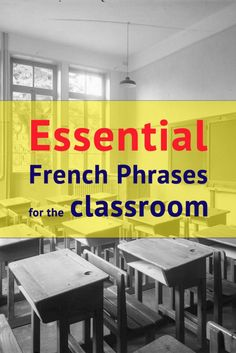 111 Essential French Phrases For The Classroom - AllWorldLanguages French Teaching Resources, Teaching French, Teaching Ideas, Spanish Activities, Language Activities, Teaching Spanish, Learning Resources, Classroom Activities, How To Speak French