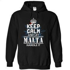 Let MALTA handle it! - #under armour hoodie #hoodie style. SIMILAR ITEMS => https://www.sunfrog.com/Christmas/Let-MALTA-handle-it-7031-Black-9470577-Hoodie.html?68278