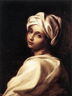 Portrait of Beatrice Cenci, Elisabetta Sirani, 1662