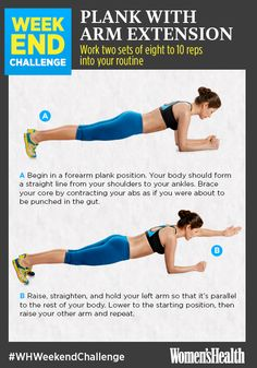 Bored of planks? Try this awesome variation!