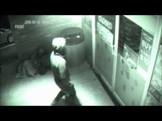 Man Caught In CCTV Going Through Wall. See It For Yourself.