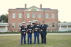 Marines wedding