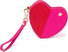 Heart Coin Wallet - Red/Pink