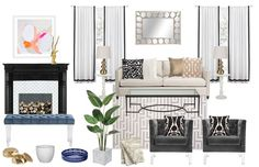 Stop overlooking the white and black throw pillows! We've got 5 ways to style with these under utilitized staples.