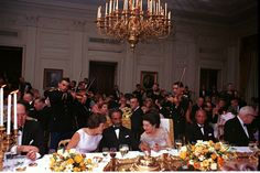 State Dinner for His Imperial Majesty Haile Selassie I, Emperor of Ethiopia.