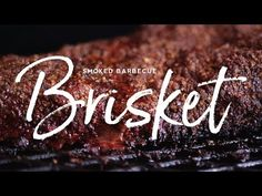 Chef Tom's backyard style Smoked BBQ Brisket is primed to become your go-to recipe for feeding the people you love the best brisket slices & burnt ends! Bbq Brisket, Smoked Brisket, Smoked Beef, Rib Recipes, Smoker Recipes, Grilling Recipes, Egg Grill, Burnt Ends, Brisket