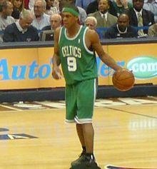 Rajon Rondo of the Boston Celtics
