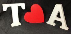 Letras decorativas - T S2 A