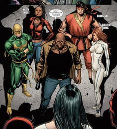 misty knight e colleen wing Colleen Wing, Carl Lucas, Danny Rand, Misty Knight, Heroes For Hire, Power Man, Luke Cage, Daredevil, Marvel Avengers