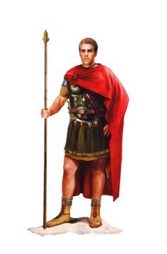 Римские императоры, правившие в I-II веках н.э.  Октавиан Август.портретное сходство на усмотрение автора.