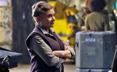 cool General Organa's Fate in 'Last Jedi' Will Not Be Changed Because of Carrie Fisher's Passing