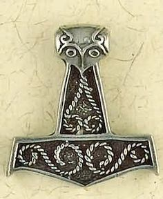 Thor's Hammer Pendant #norse #norwegian ***Research for possible future project.