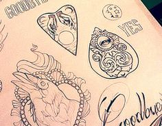 """Check out new work on my @Behance portfolio: """"Flash Tattoo"""" http://be.net/gallery/34358927/Flash-Tattoo"""
