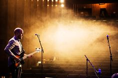 Hubble Jive release show. Photo: Frank A. Unger #timshel #hubblejive #concert #soundcheck #bass #bassplayer #livemusic #photo #concertphotography #livephoto #stage #soundcheck #music #indie #pop