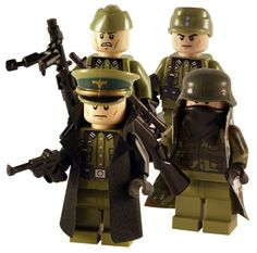 WW2 - German Heer 4 Man Squad