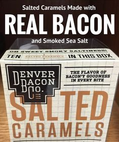 Grab a FREE SAMPLE pack of 3 of these big, delicious, smoky Bacon Salted Caramels when you subscribe to the BaconMePlease.com email newsletter. Just a small 4.95 s&h fee. (our normal s&h starts at $6.95). While Supplies Last.