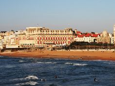 Biarritz: Just a few miles from Spain in the heart of the French Basque country, Biarritz is a tranquil yet elegant seaside resort.. Located on the Bay of Biscay, Biarritz is prized for its lovely beaches that offer excellent swimming, world-class surfing.