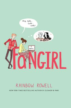 Fangirl by Rainbow Rowell.  This gorgeous A coming-of-age tale sees Cath head off to University - can she make it on her own or will she hide in her room writing Simon Snow Fan fic. The perfect story for anyone who has stayed up past midnight to finish a book, cried over a fictional character or got into a shipping war.