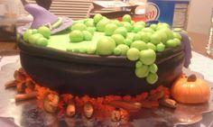 first Halloween cake  by BrandiAnn