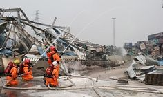 Tianjin explosions: sodium cyanide on site may have been 70 times allowed amount.