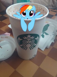me; excuse me waiter, but there's a pony in my coffee.  waiter; oh i am sorry. would you like me to get you a new one?  me; NO NO I WANT TO KEEP THE PONY!