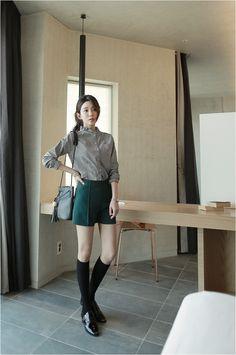 Cury Pants   Korean Fashion