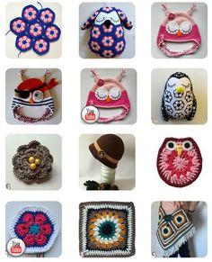 En la sección de crochet de mi blog podéis encontrar todos estos patrones, ¿os gustan? Son muy sencillos pero resultones. http://www.artedetei.com/p/patrones-de-crochet.html