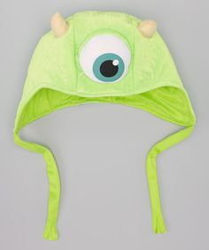 Look at this Monsters University Deluxe Mike Earflap Beanie on #zulily today!