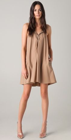 3.1 Phillip Lim    String Strap Dress with Zipper