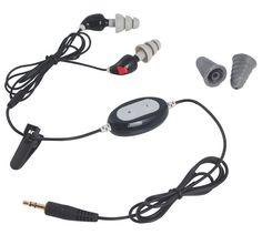 Korvatulpat, joilla voit kuunnella musiikkia! 3,5mm liitäntä musiikin kuuntelua varten.