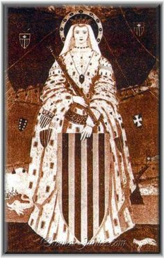 Esclaramunda of Foix (1255–1315) was queen of Majorca. She was married to James II of Majorca, and she was responsible for tutoring her grandson James III of Majorca. She was protector of the Order of Mercy. Her feast is on the 22nd October.