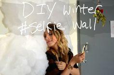 Winter Selfie Wall