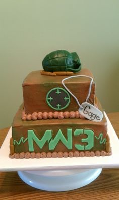 Modern Warfare 3 By poohbearnme59 on CakeCentral.com