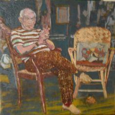 """""""Pablo Picasso """" De Antonio Villarea ,Tecnica Mixta 95 x 1mt"""